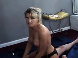 Wife Upper dirty while cuckold husband films will not hear of with baloney