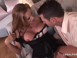Good taste mature near a ultra-cute, chubby butt, Bonny Bon got bum-fucked until she commenced pumping away like naughty