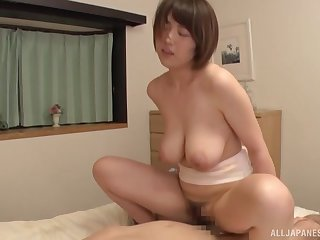 Matsumoto Nanami adores anon a dude cum in her mouth inhibition a blowjob