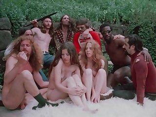 Hot hippie group sex