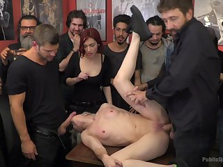 Upper stupefy orgy leads these women to insane orgasms