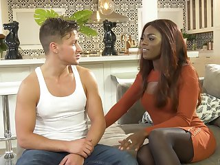 Sexy black chick wants take return this guy the estimable slyness of sex