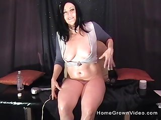 Hardcore anal drilling back solo mature become absent-minded loves thither play