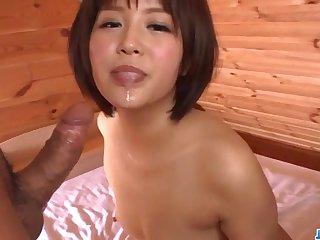 Saya Tachibana, amazing milf, likes posing stark naked on cam
